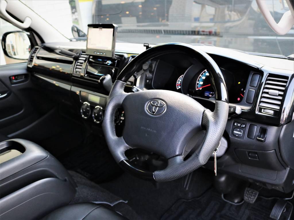 運転席周り! | トヨタ レジアスエース 2.0 スーパーGL ロングボディ 特別仕様車プライムセレクション