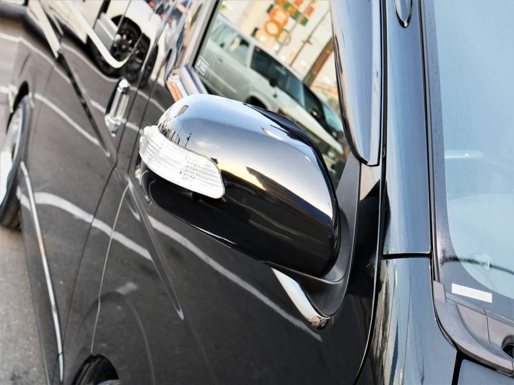LEDサイドミラー! | トヨタ レジアスエース 2.0 スーパーGL ロングボディ 特別仕様車プライムセレクション