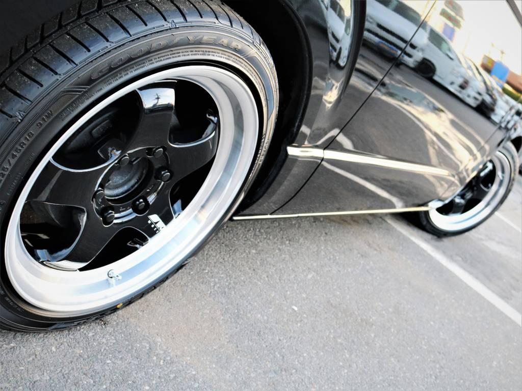 足元バッチリ決まっております! | トヨタ レジアスエース 2.0 スーパーGL ロングボディ 特別仕様車プライムセレクション