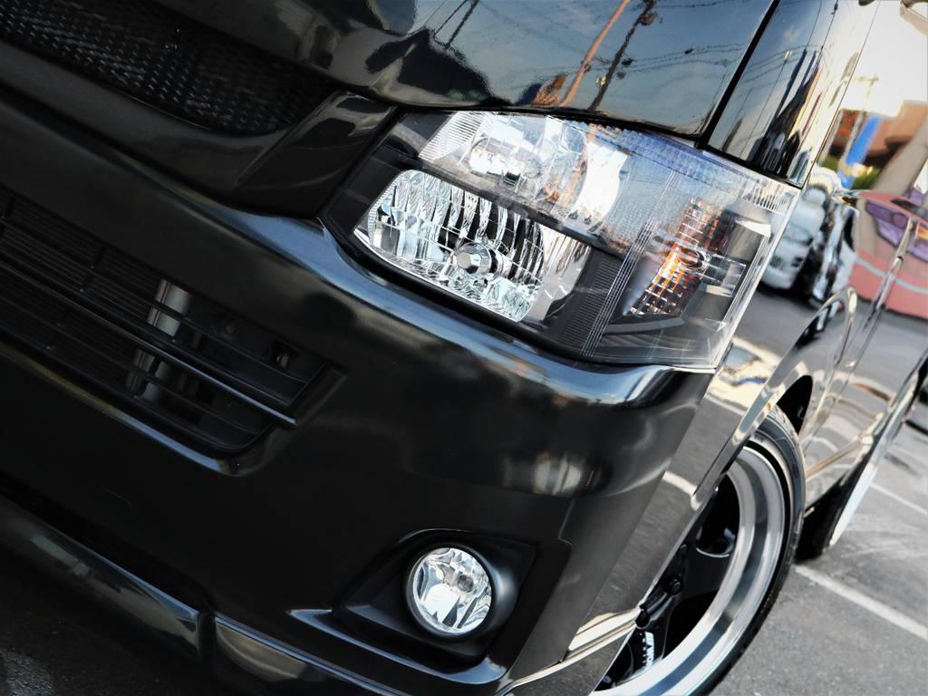 ヘッドライト、インナーブラック! | トヨタ レジアスエース 2.0 スーパーGL ロングボディ 特別仕様車プライムセレクション