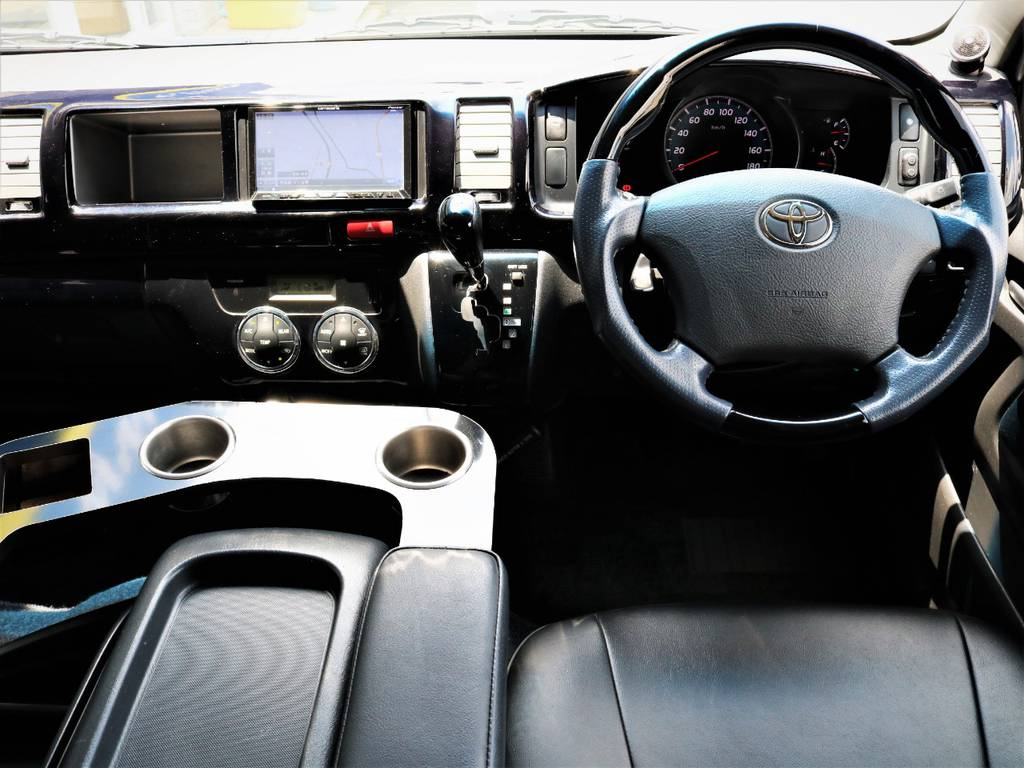 外装内装クリーニング済みです! | トヨタ ハイエース 2.7 GL ロング ミドルルーフ キャプテンシート ベッド