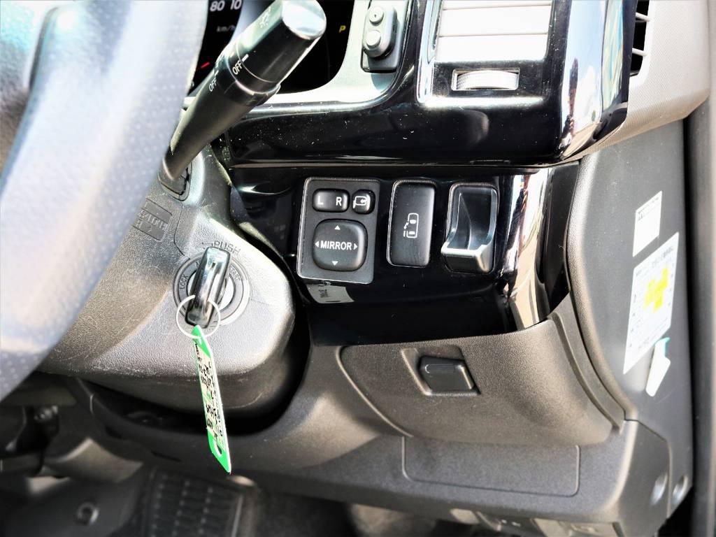 メーカーオプション「パワースライドドア」! | トヨタ ハイエース 2.7 GL ロング ミドルルーフ キャプテンシート ベッド