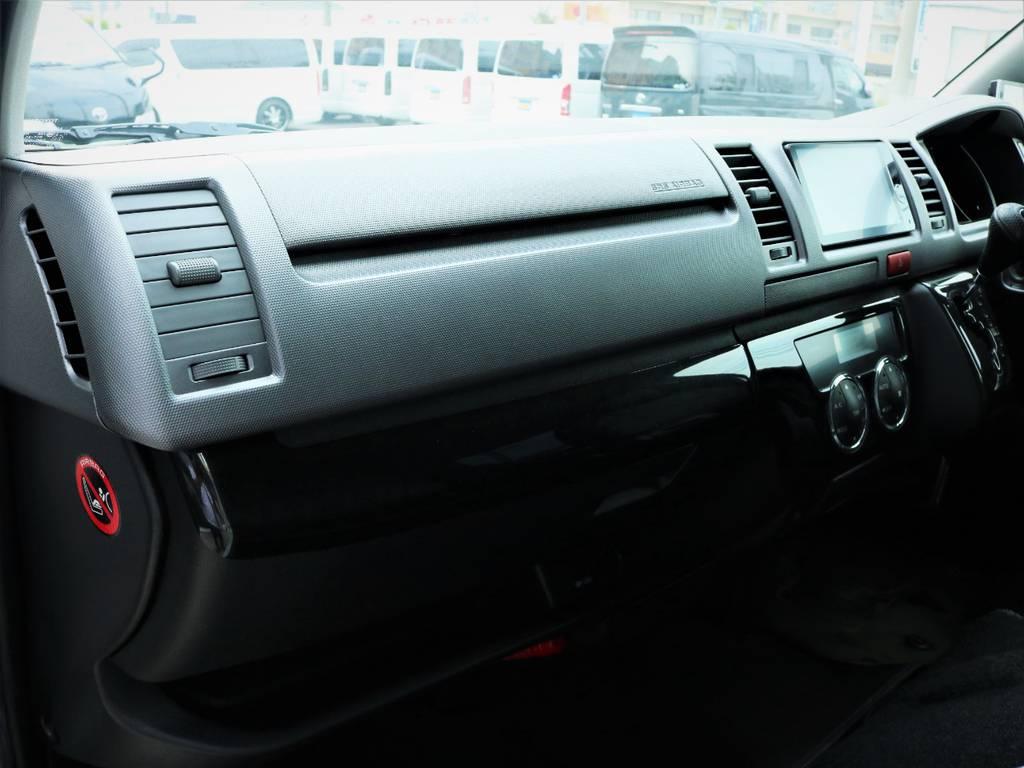メーカーオプション「助手席エアバック、AC100V電源」!   トヨタ ハイエースバン 3.0 スーパーGL ロング ディーゼルターボ 4WD ベッドキット