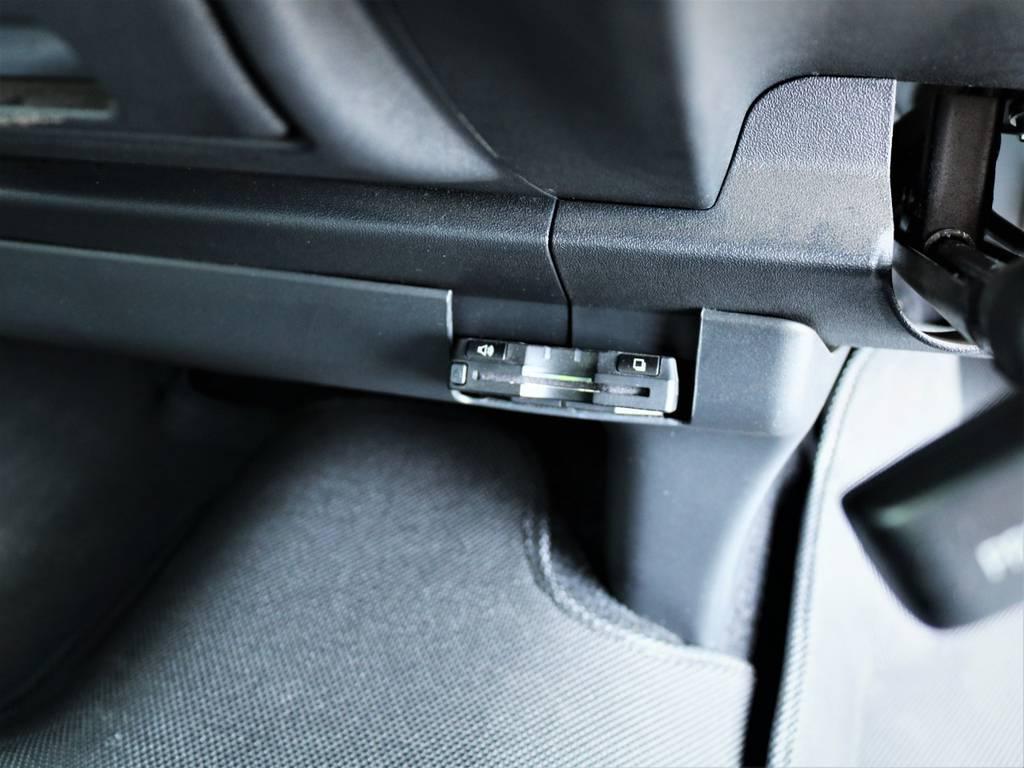高速走行に便利なETC!   トヨタ ハイエースバン 3.0 スーパーGL ロング ディーゼルターボ 4WD ベッドキット