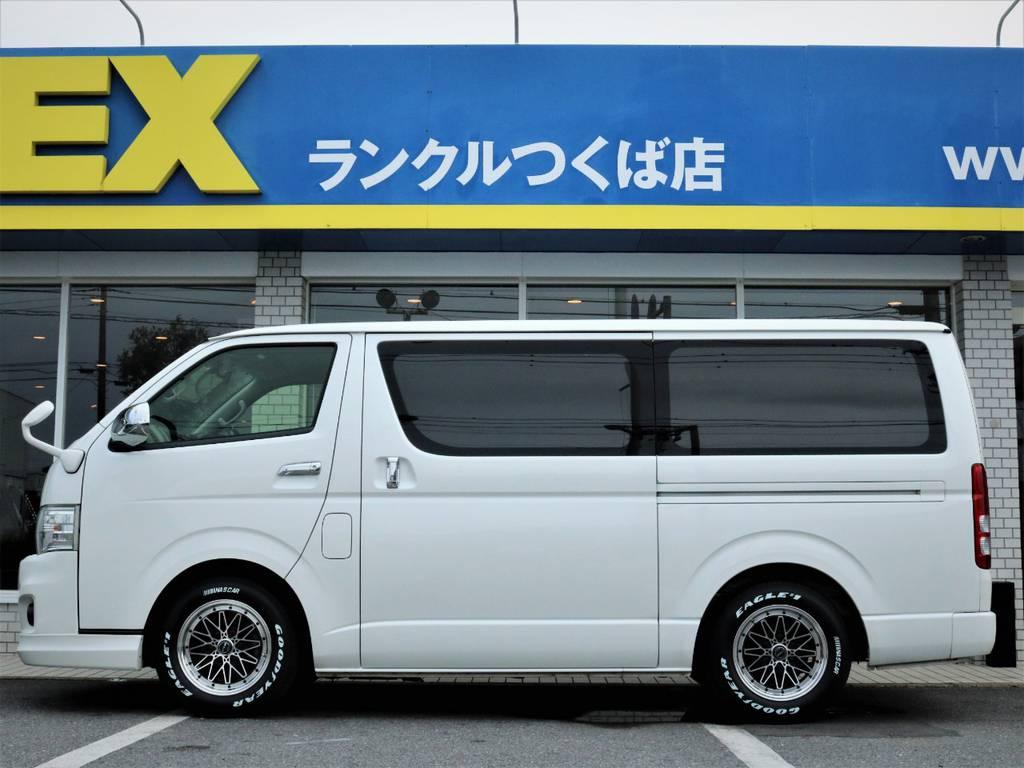 茨城県最大級のハイエース専門店!新車から中古車までラインナップ!   トヨタ ハイエースバン 3.0 スーパーGL ロング ディーゼルターボ 4WD ベッドキット