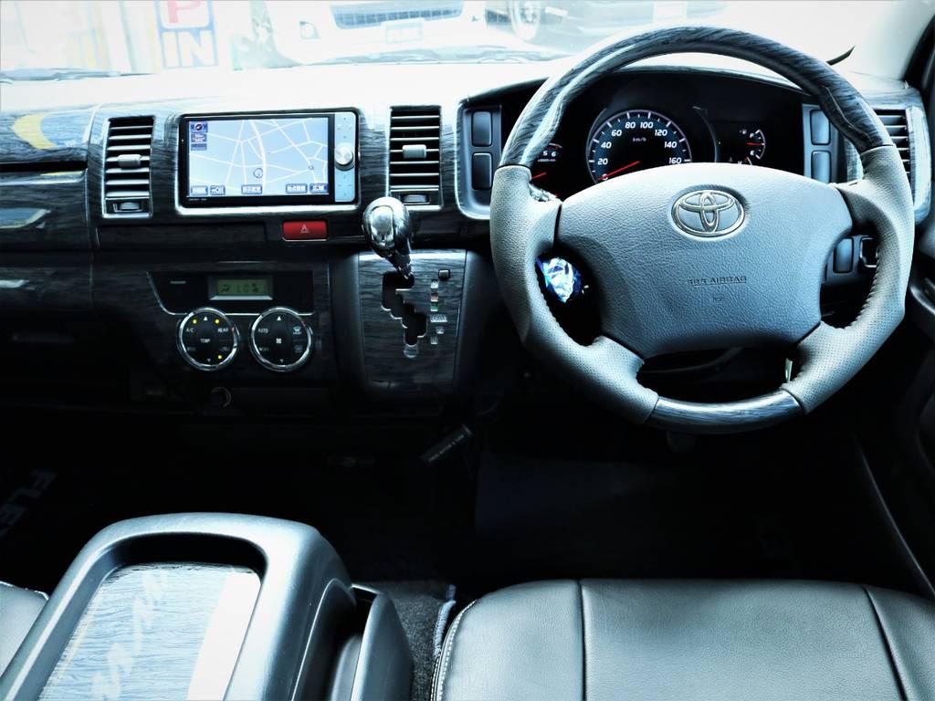 外装内装クリーニング済みです! | トヨタ ハイエースバン 3.0 マルチロールトランスポーター タイプⅡ ロング ディーゼルターボ ベッドキット 専用フロア
