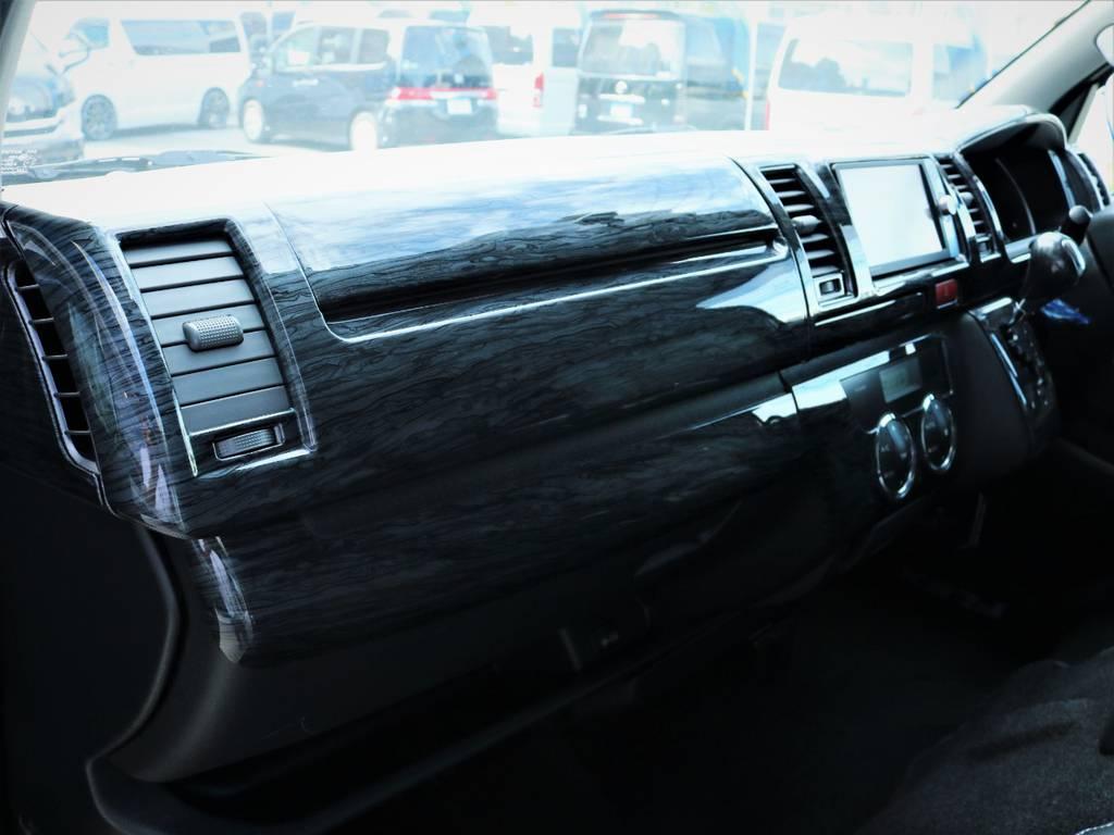 メーカーオプション「助手席エアバック、AC100V電源」! | トヨタ ハイエースバン 3.0 マルチロールトランスポーター タイプⅡ ロング ディーゼルターボ ベッドキット 専用フロア