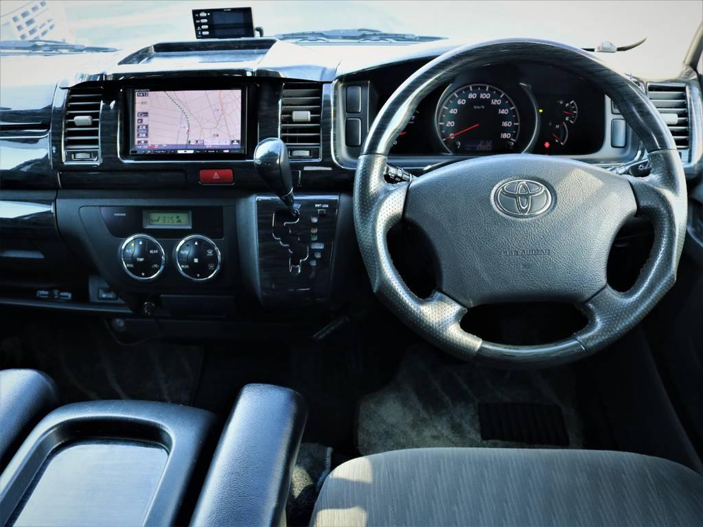 外装内装クリーニング済みです! | トヨタ ハイエースバン 2.0 スーパーGL ロング エースキット 5ナンバー 8人乗り