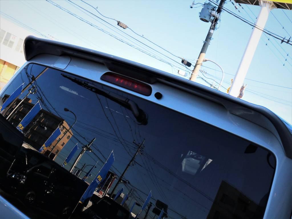 リアスポイラー付き! | トヨタ ハイエースバン 2.0 スーパーGL ロング エースキット 5ナンバー 8人乗り
