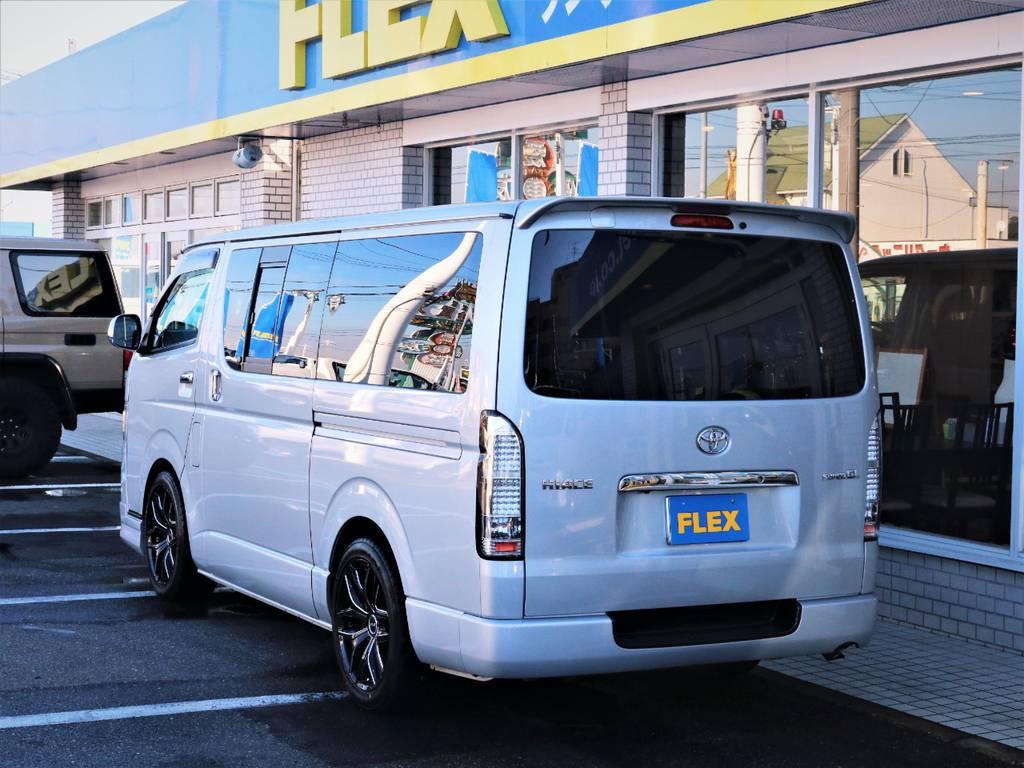 茨城県最大級のハイエース専門店!新車から中古車までラインナップ! | トヨタ ハイエースバン 2.0 スーパーGL ロング エースキット 5ナンバー 8人乗り