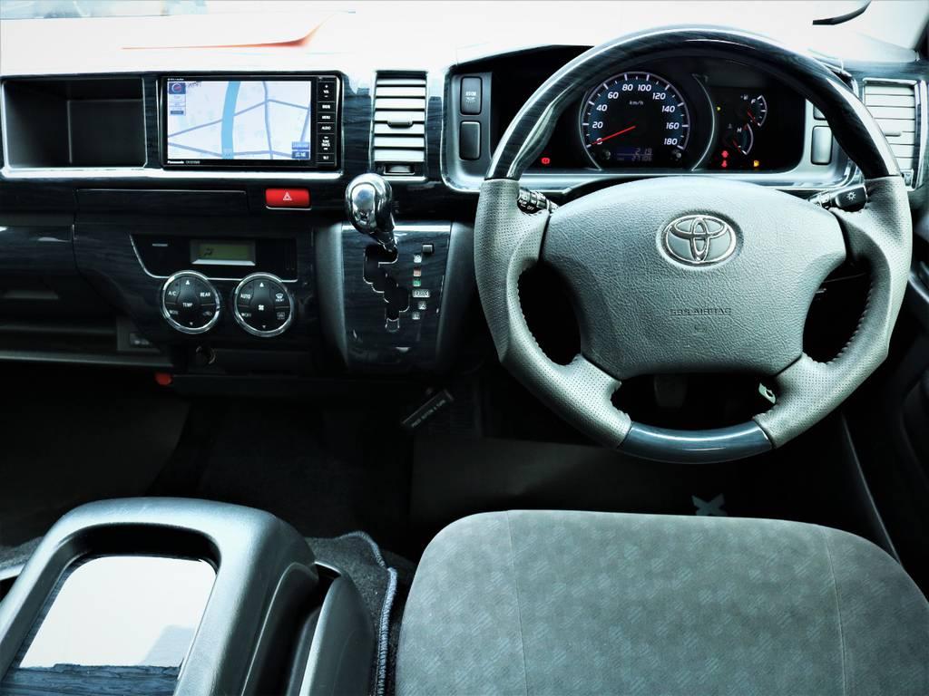 外装内装クリーニング済みです! | トヨタ ハイエース 2.7 GL ロング ミドルルーフ ファインテックツアラー