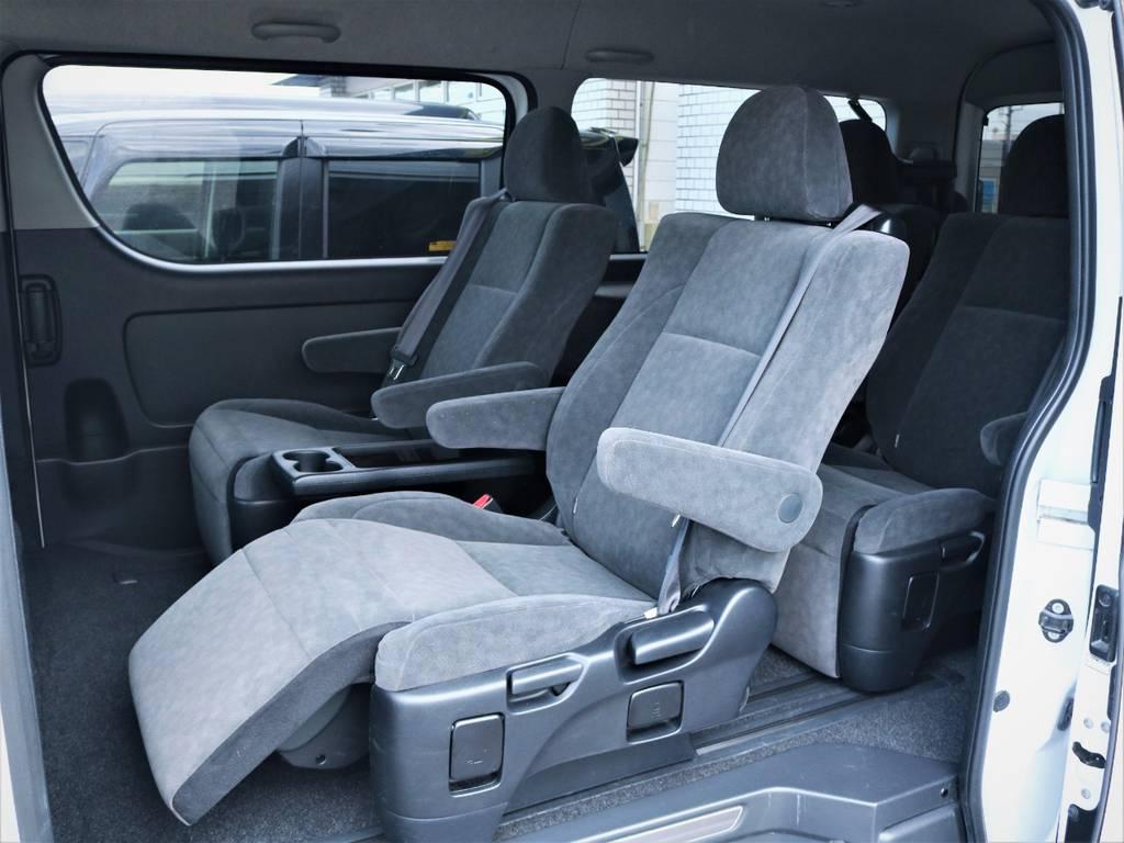ゆったり座れるシート! | トヨタ ハイエース 2.7 GL ロング ミドルルーフ ファインテックツアラー