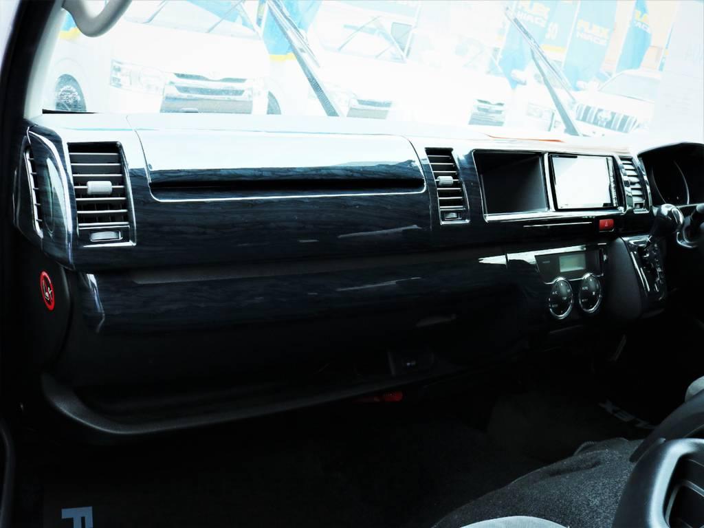 助手席エアバック、AC100V電源! | トヨタ ハイエース 2.7 GL ロング ミドルルーフ ファインテックツアラー