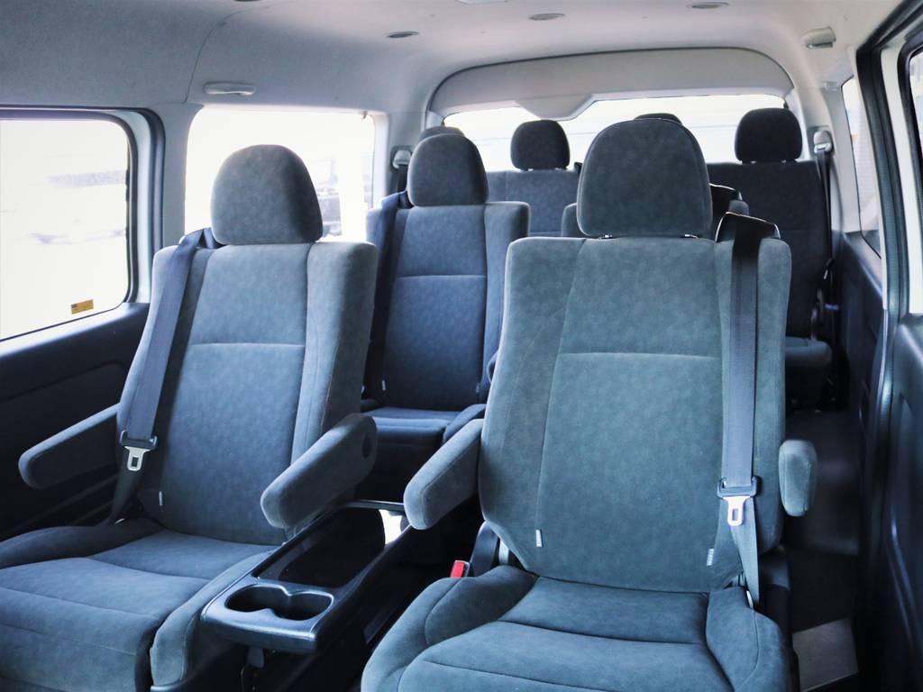 豪華室内、キャプテンシート搭載車輌! | トヨタ ハイエース 2.7 GL ロング ミドルルーフ ファインテックツアラー