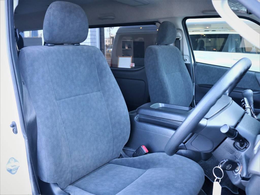 運転席シート! | トヨタ ハイエース 2.7 GL ロング ミドルルーフ ファインテックツアラー