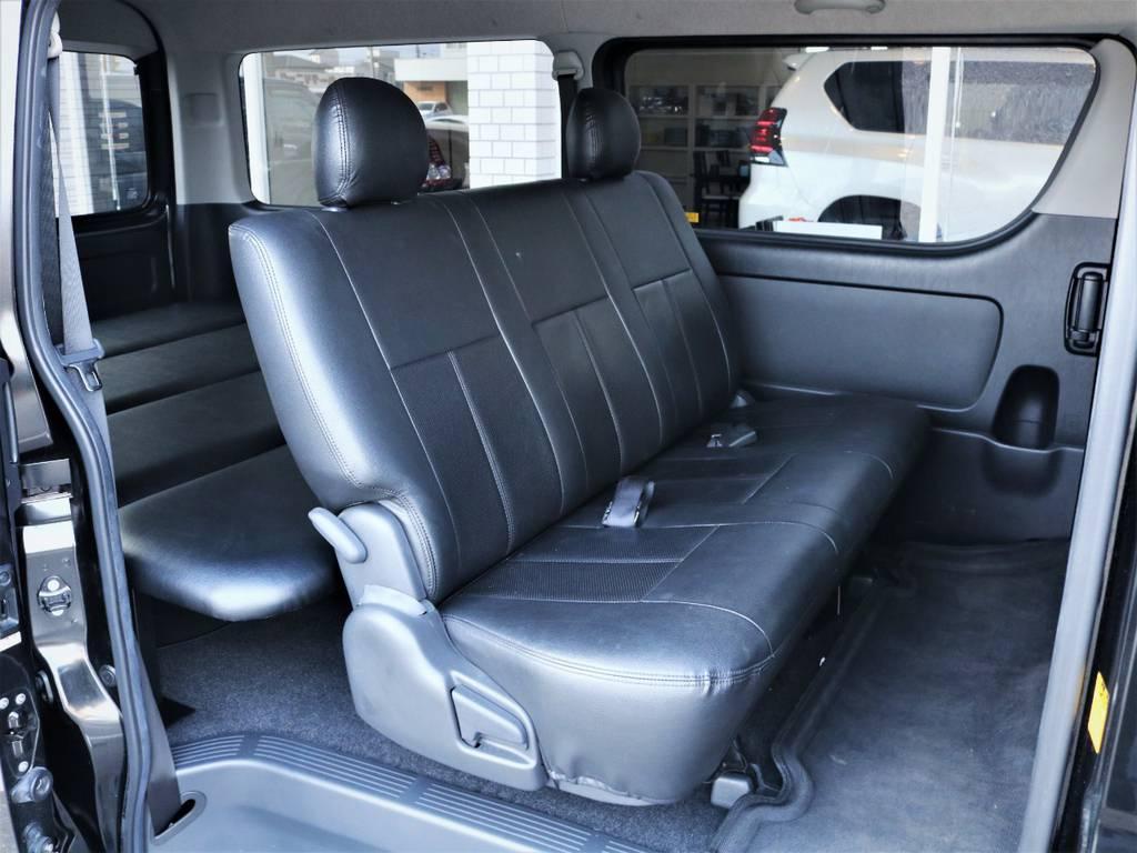 セカンドシート! | トヨタ レジアスエース 2.7 スーパーGL ワイド ミドルルーフ ロングボディ 4WD ベッドキットパッケージ
