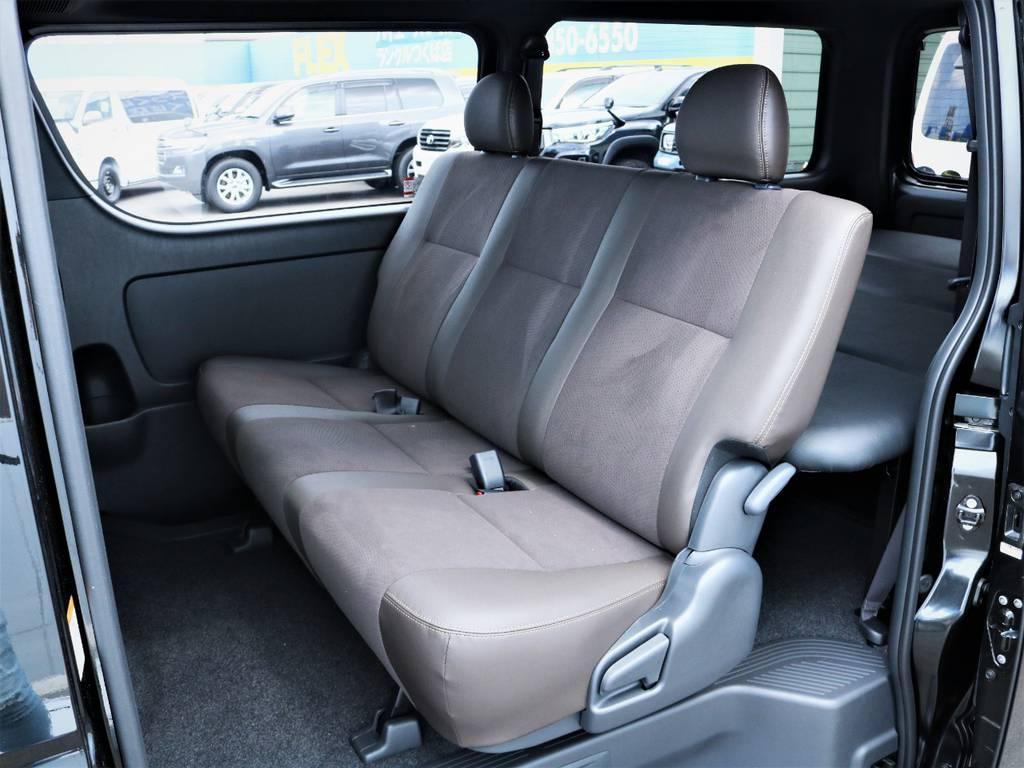セカンドシート! | トヨタ ハイエースバン 2.8 スーパーGL 50TH アニバーサリー リミテッド ロングボディ ディーゼルターボ ベッドキット