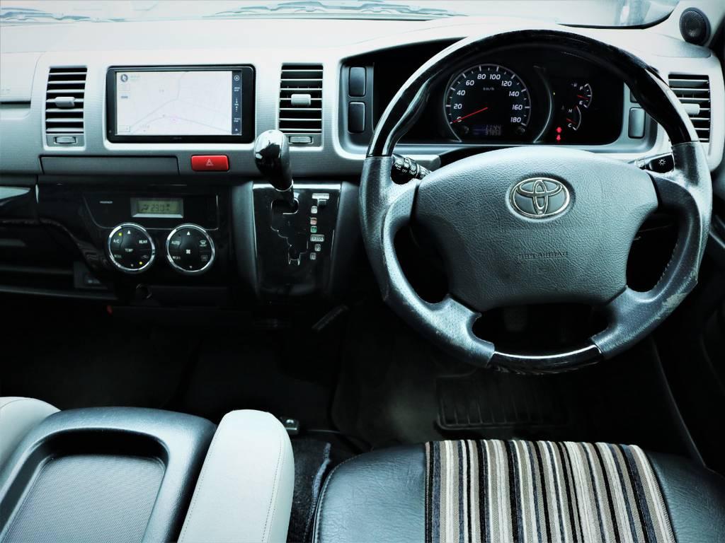 外装内装クリーニング済みです! | トヨタ ハイエースバン 3.0 スーパーGL ロング ディーゼルターボ 4WD 買取直販