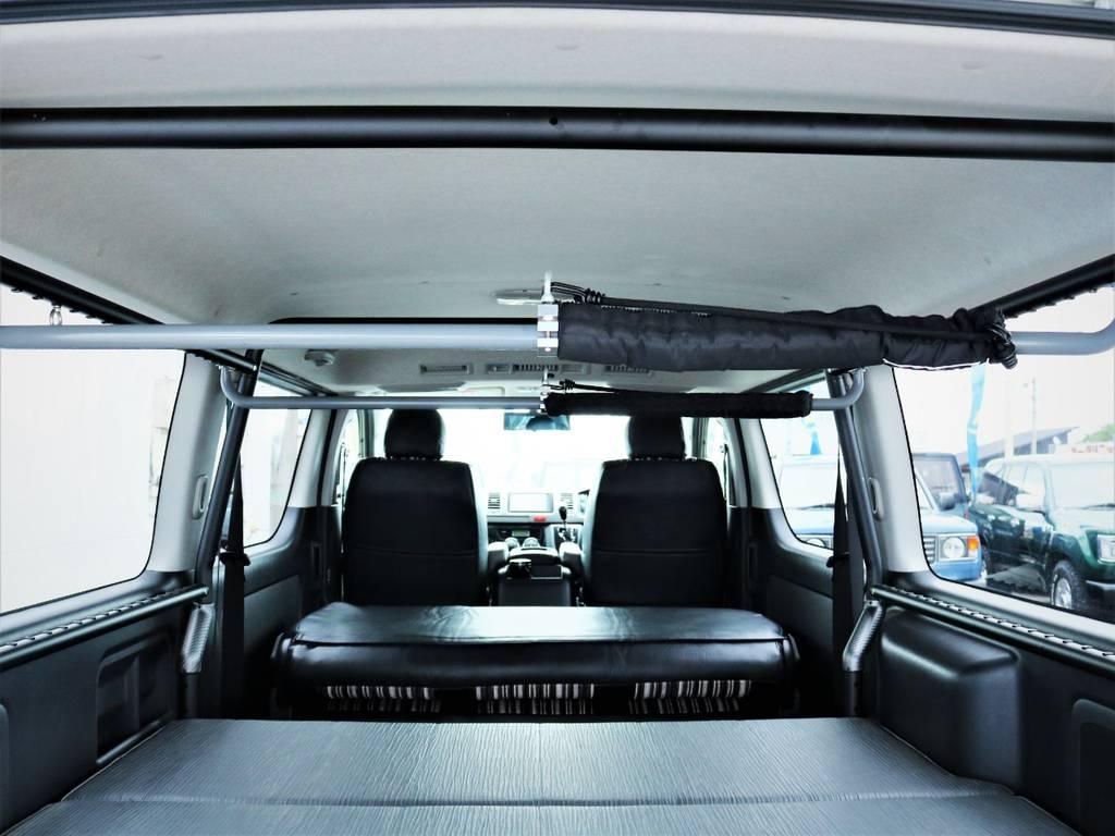 天井の状態! | トヨタ ハイエースバン 3.0 スーパーGL ロング ディーゼルターボ 4WD 買取直販