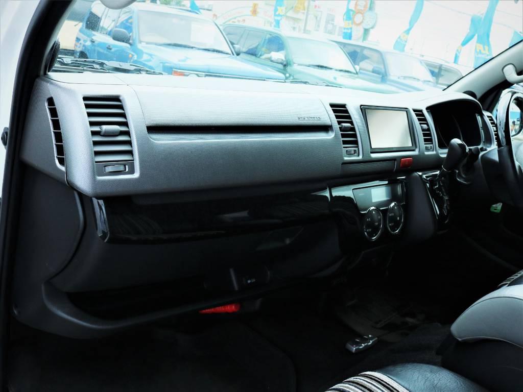 助手席エアバック、AC100電源付き! | トヨタ ハイエースバン 3.0 スーパーGL ロング ディーゼルターボ 4WD 買取直販
