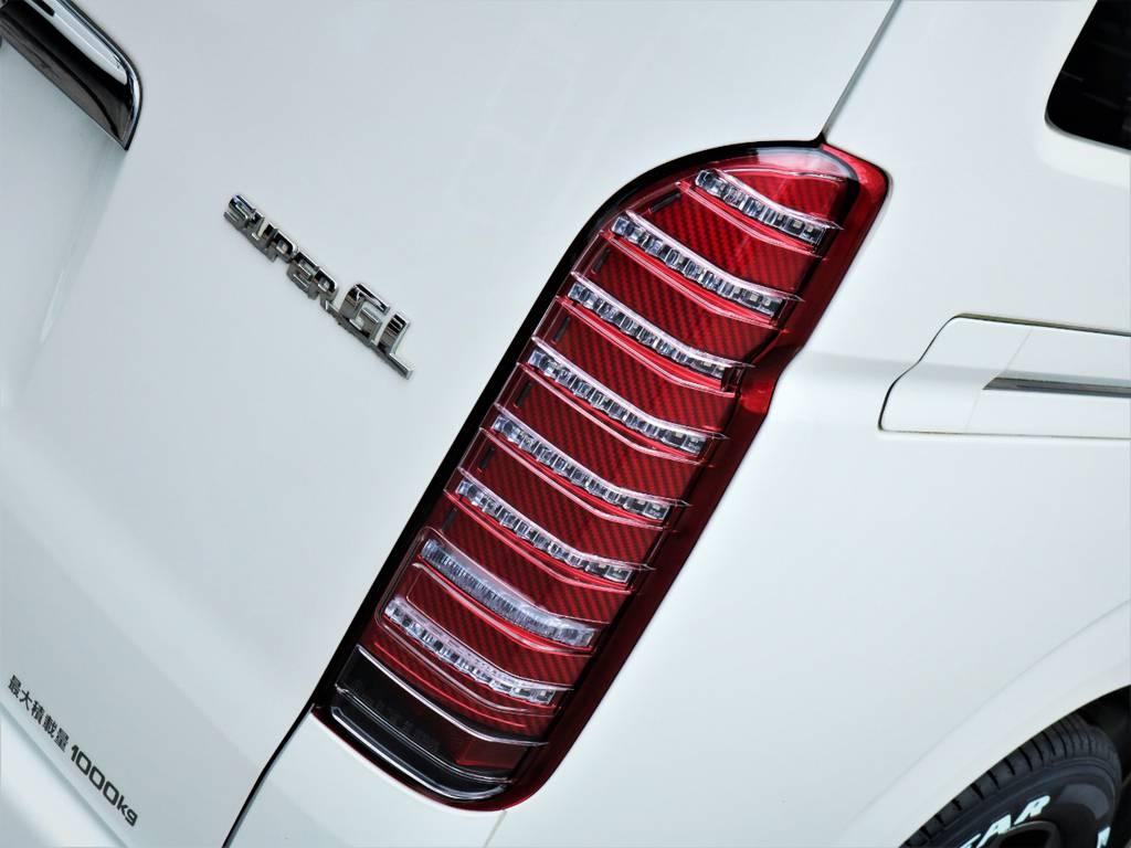 コプラス製LEDテールランプ! | トヨタ ハイエースバン 3.0 スーパーGL ロング ディーゼルターボ 4WD 買取直販