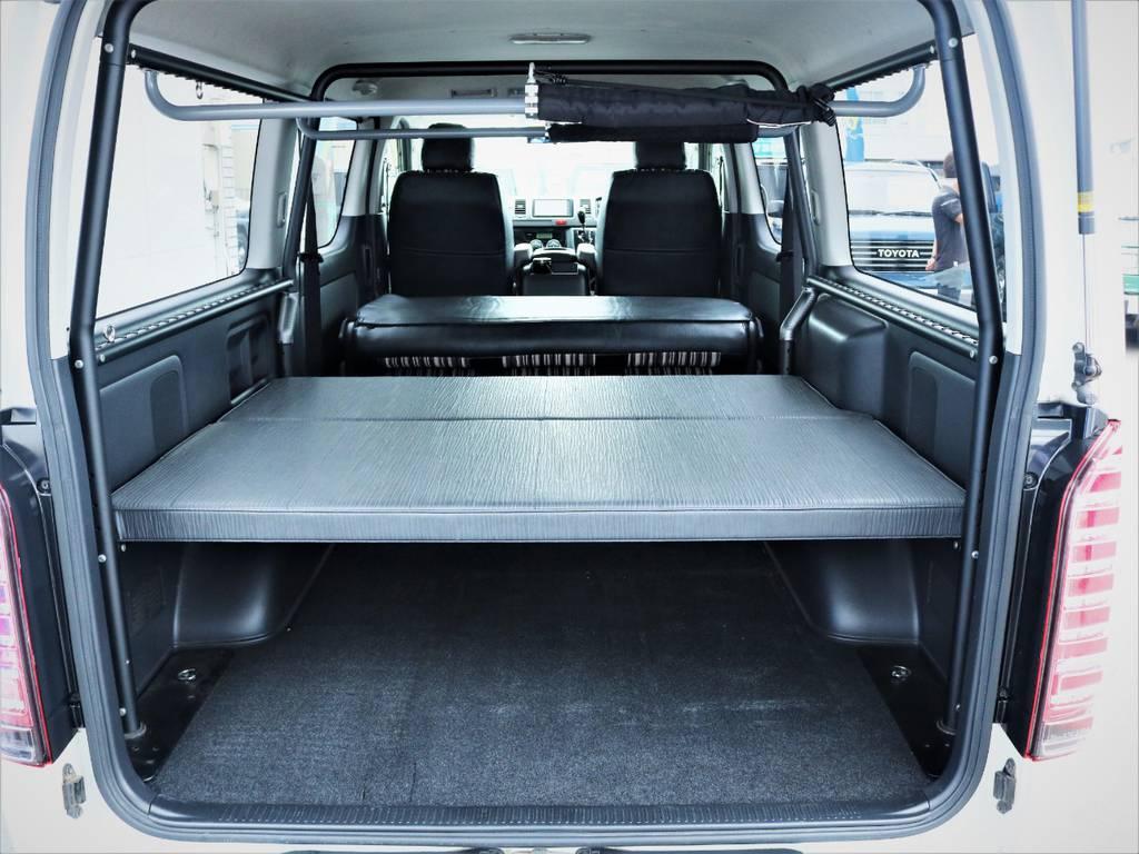 収納スペース御座います! | トヨタ ハイエースバン 3.0 スーパーGL ロング ディーゼルターボ 4WD 買取直販
