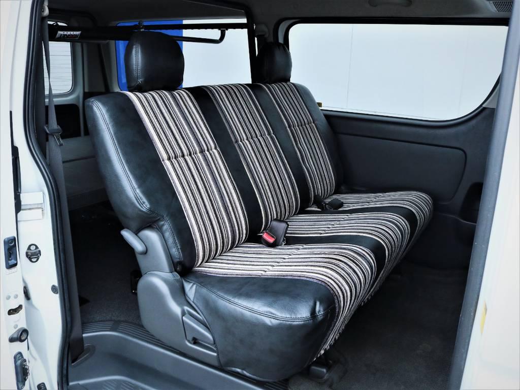 セカンドシート! | トヨタ ハイエースバン 3.0 スーパーGL ロング ディーゼルターボ 4WD 買取直販