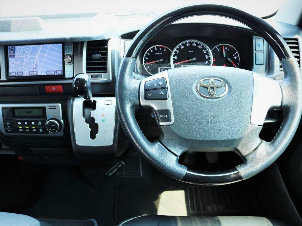 高級感溢れる室内! | トヨタ ハイエース 2.7 GL ロング ミドルルーフ 内装アレンジ