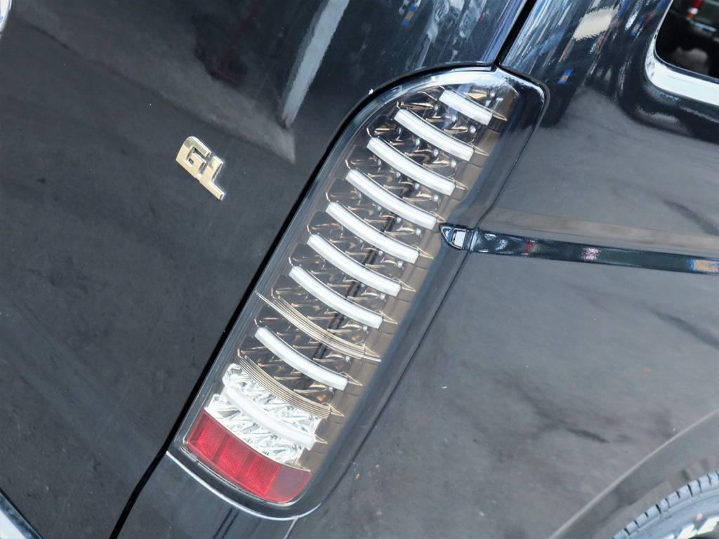 ヴァレンティ製LEDテールランプ! | トヨタ ハイエース 2.7 GL ロング ミドルルーフ 内装アレンジ
