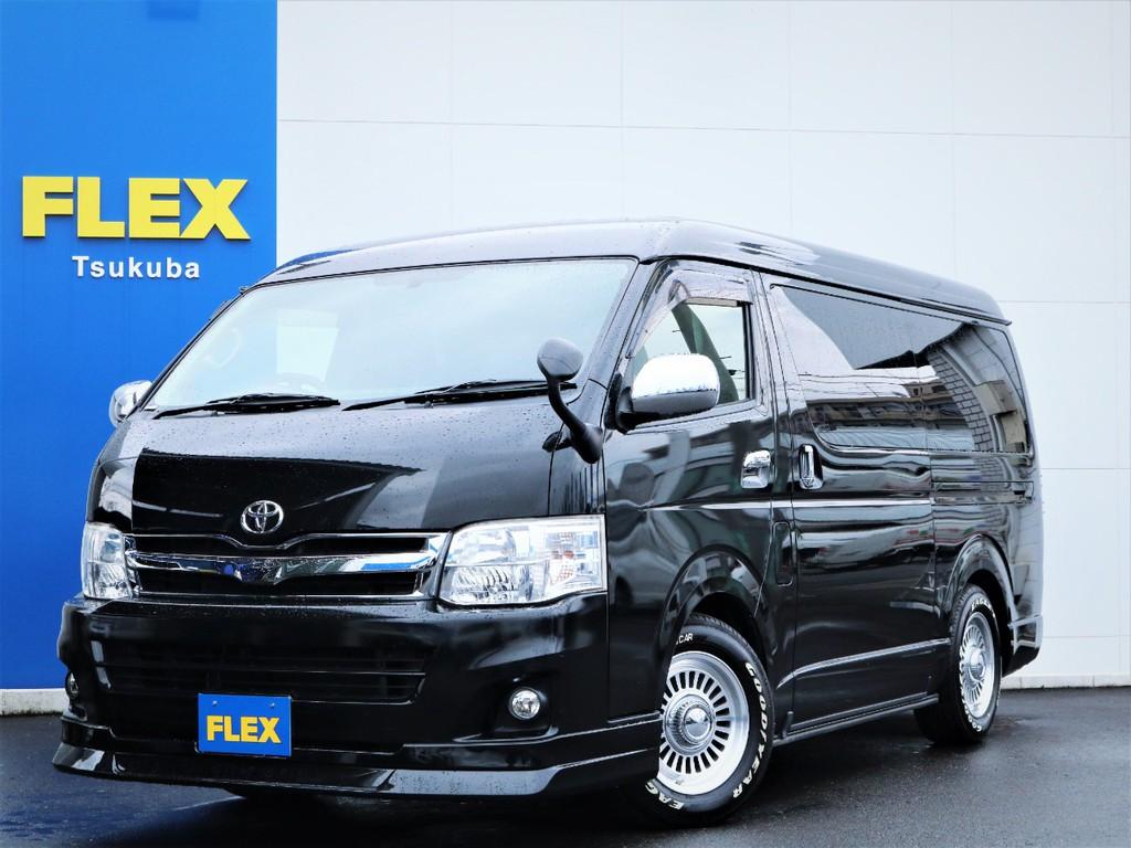 平成23年ハイエースW「GL」10人乗り4WDガソリン車!人気の内装アレンジ!