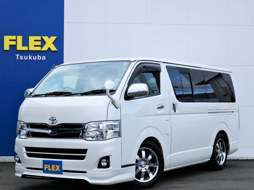 平成24年ハイエースVスーパーGL5人乗り2WDガソリン車特別仕様車プライムセレクション!