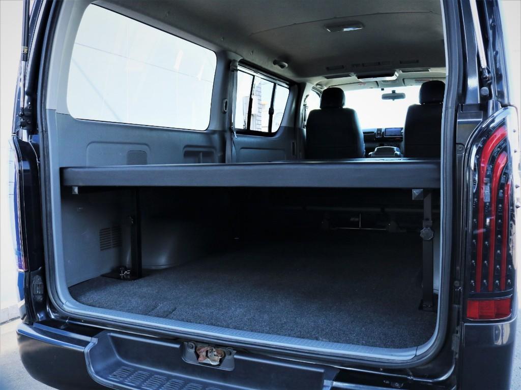 ベッドキット下には収納スペース御座います!