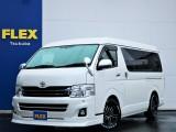 【3型後期】平成24年ハイエースW「GL」10人乗り2WDガソリン車!16AW・ローダウン・SDナビ・フルセグTV・シートカバー!