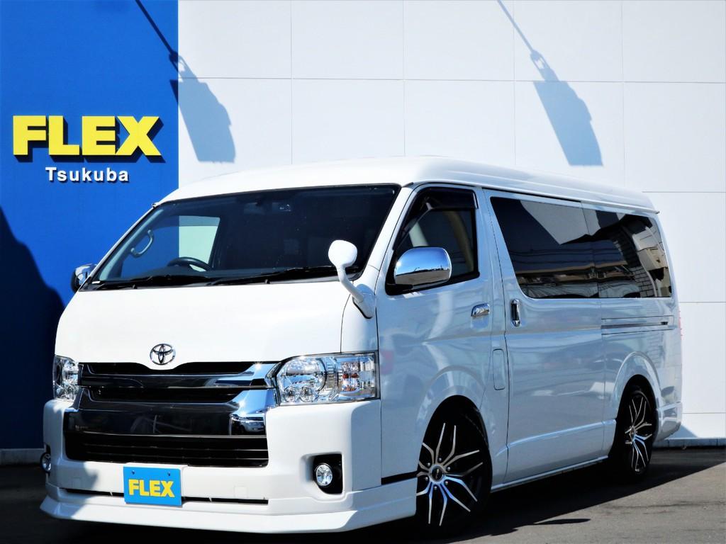 平成29年ハイエースW「GL」10人乗り2WDガソリン車!買取直販内装アレンジA-S!