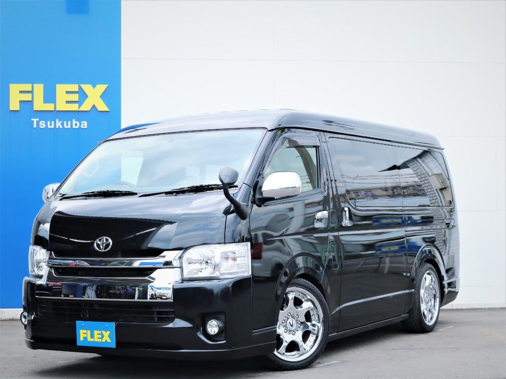 平成27年ハイエースW「GL」10人乗り2WDガソリン車!綺麗なワンオーナー車!