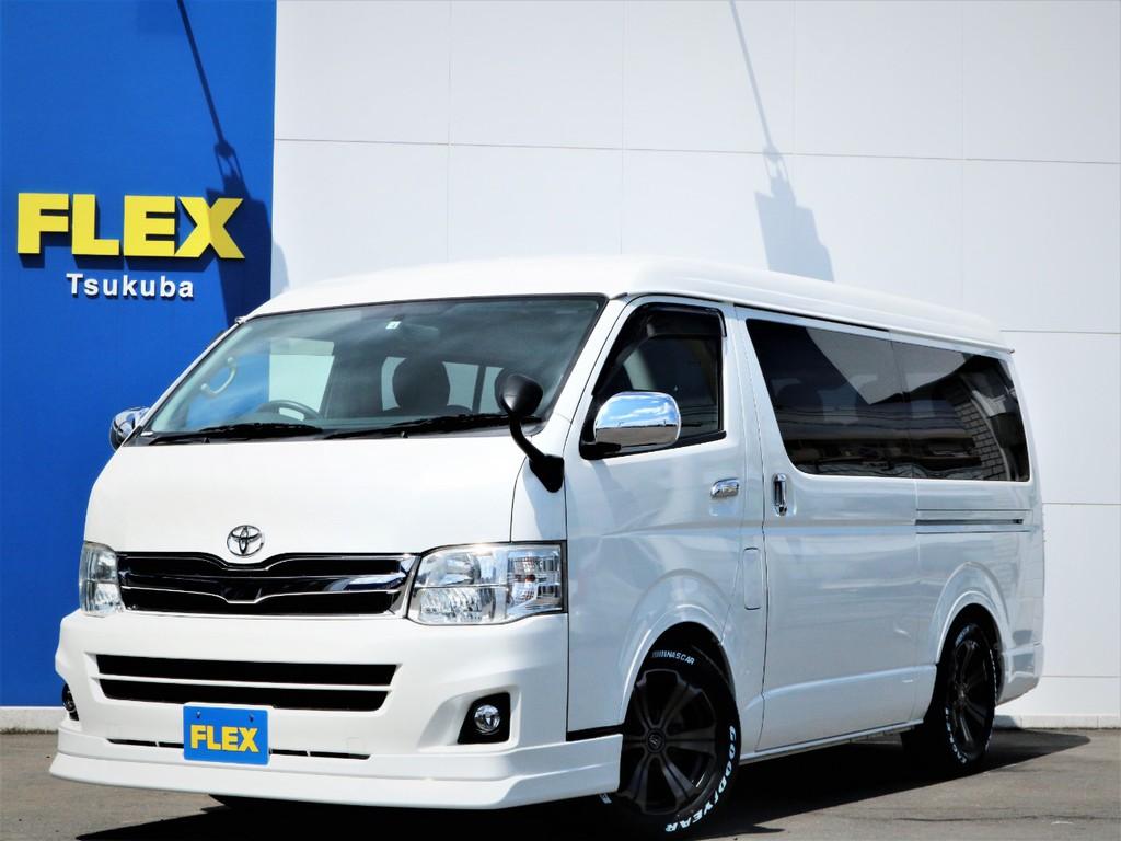 平成22年ハイエースW「GL」10人乗り2WDガソリン車!3型モデルが入庫!