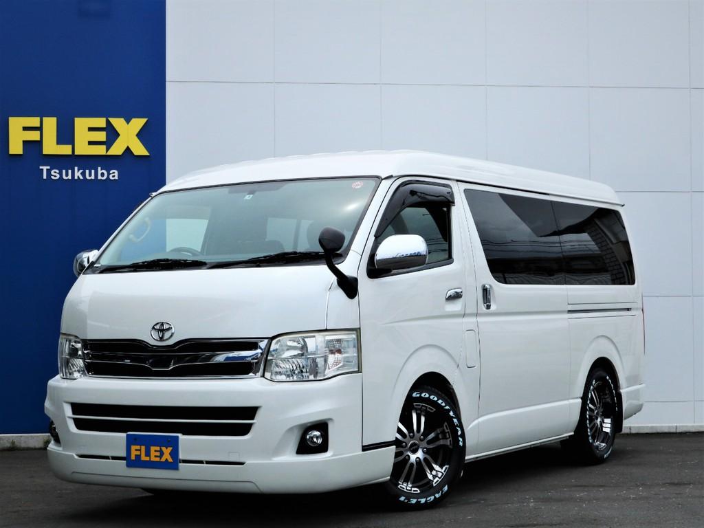 平成23年ハイエースW「GL」10人乗り2WDガソリン車!買取直販の綺麗な一台が入庫!
