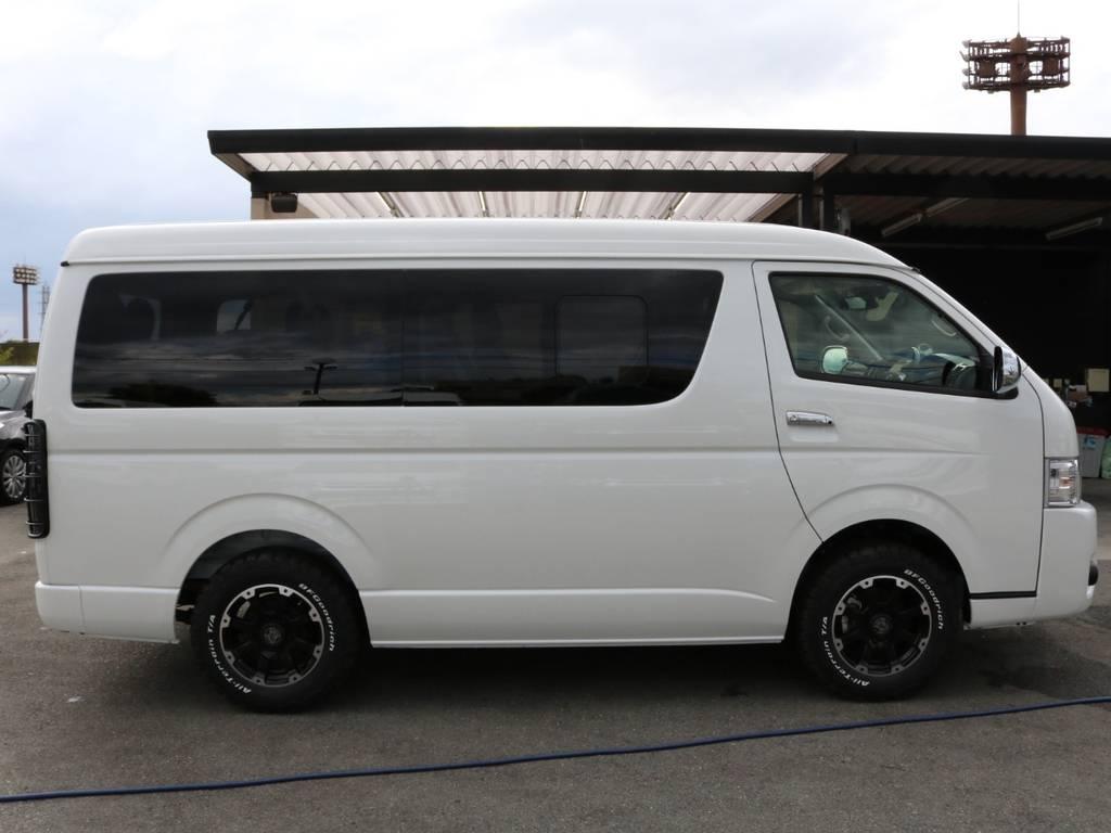 | トヨタ ハイエース 2.7 GL ロング ミドルルーフ 4WD ワゴンGL4WDカスタム車