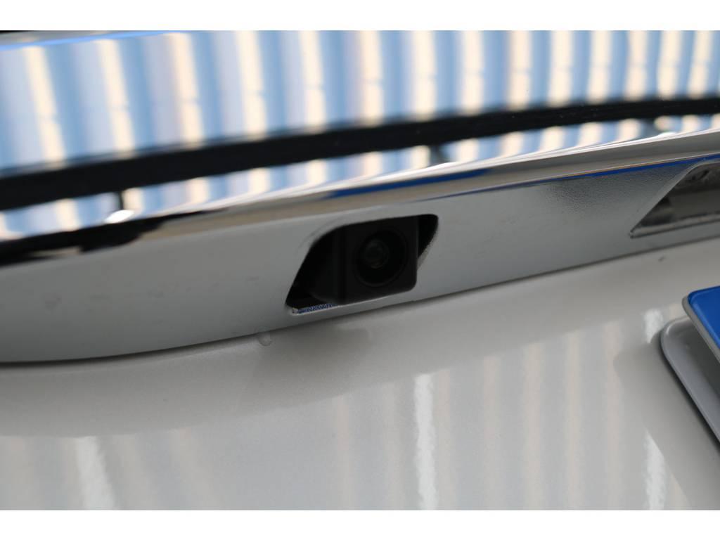 純正バックカメラ♪ | トヨタ ハイエース 2.7 GL ロング ミドルルーフ TSS付Ver2テーブル付 試乗車