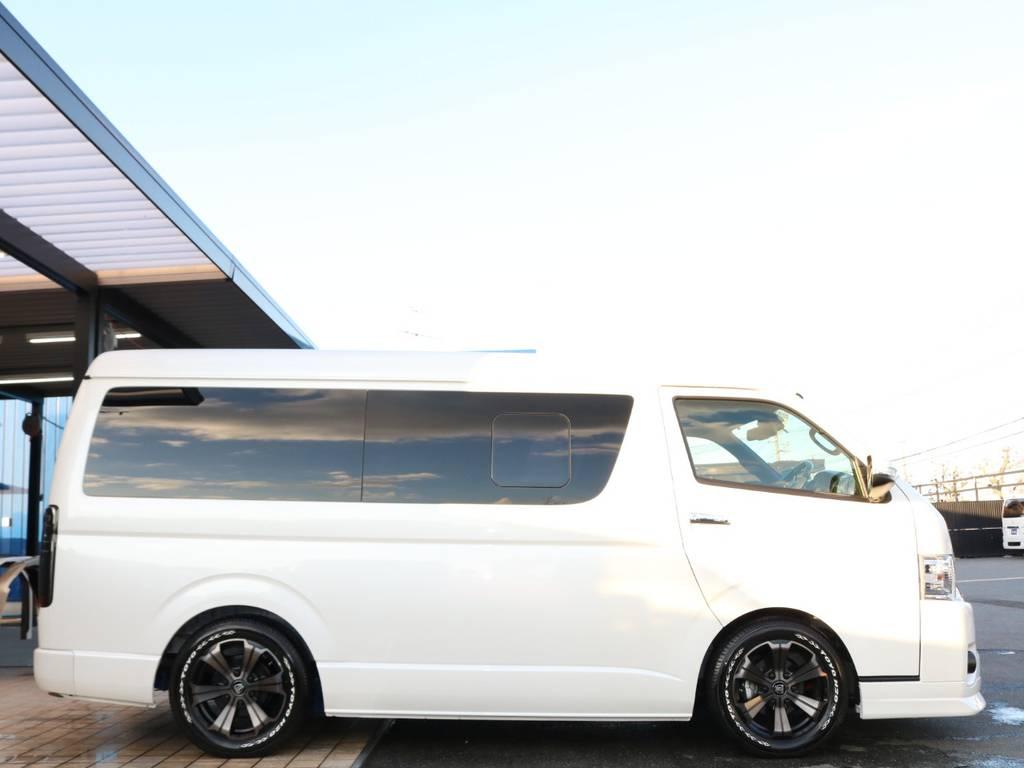 2インチローダウンKIT♪ | トヨタ ハイエース 2.7 GL ロング ミドルルーフ TSS付Ver2テーブル付 試乗車