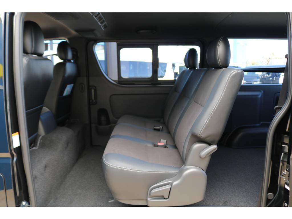 | トヨタ ハイエースバン 2.8 スーパーGL ダークプライムⅡ ロングボディ ディーゼルターボ 4WD 小窓付ディーゼル4WDナビ付