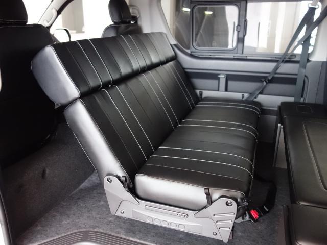 対面アレンジも可能です♪ | トヨタ ハイエース 2.7 GL ロング ミドルルーフ 4WD TSS寒冷地付アレンジAS