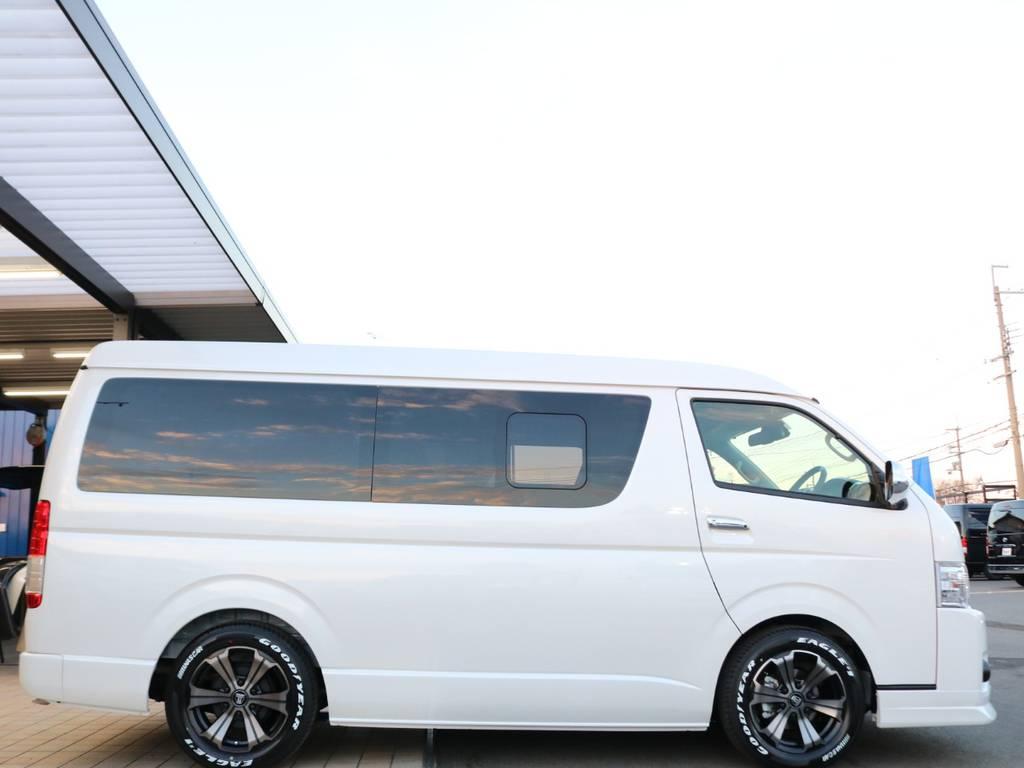 1.5インチローダウンKIT♪ | トヨタ ハイエース 2.7 GL ロング ミドルルーフ 4WD TSS寒冷地付アレンジAS
