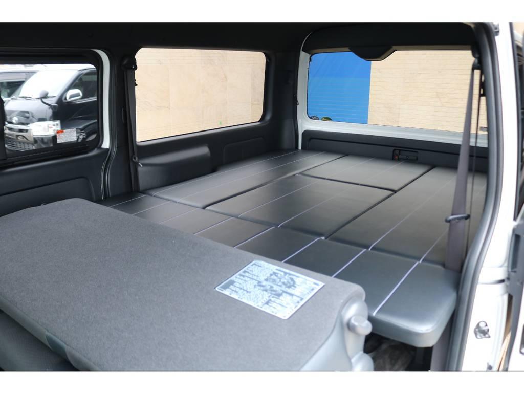 当社オリジナルベッドキット♪ | トヨタ ハイエースバン 2.7 スーパーGL ダークプライムⅡ ワイド ミドルルーフ ロングボディ 4WD アクティブPKG