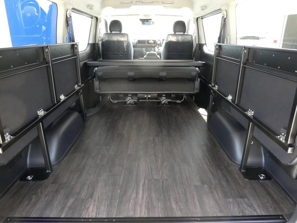 大容量のカーゴスペース♪ | トヨタ ハイエースバン 2.7 スーパーGL ダークプライムⅡ ワイド ミドルルーフ ロングボディ 4WD アクティブPKG
