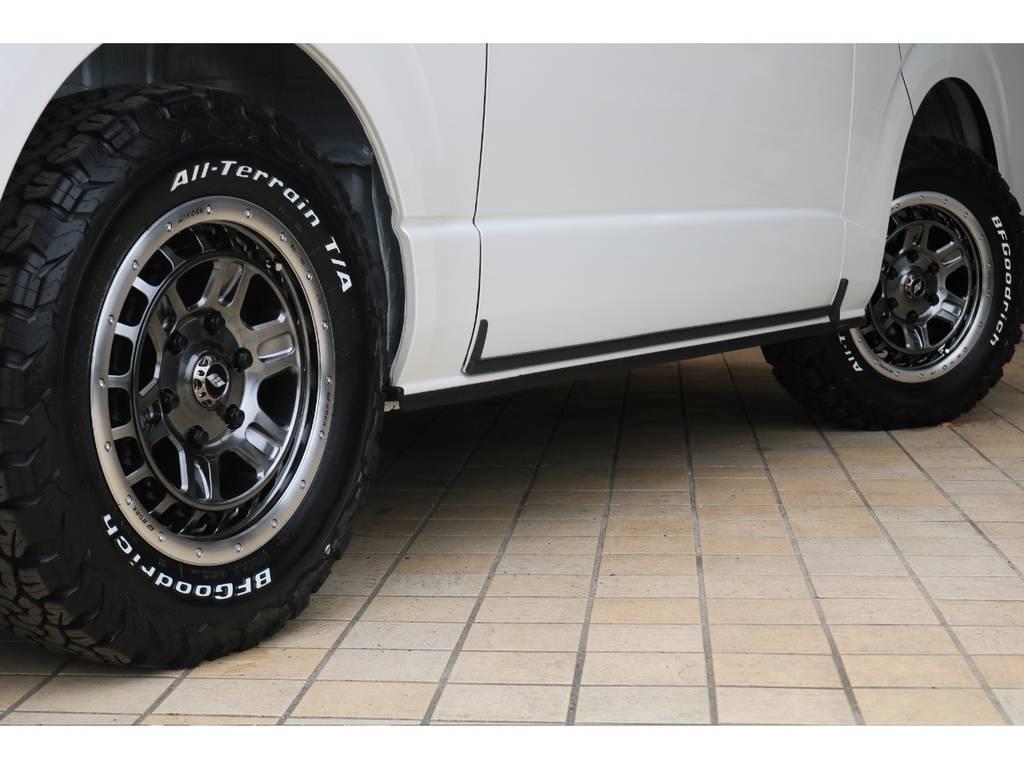 新作WORK16インチAW&グッドリッチタイヤ♪ | トヨタ ハイエースバン 2.7 スーパーGL ダークプライムⅡ ワイド ミドルルーフ ロングボディ 4WD アクティブPKG