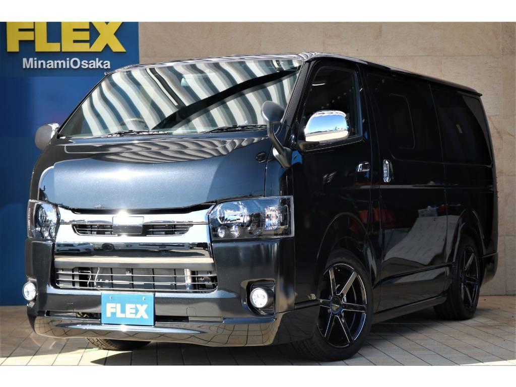 新車スーパーGL ダークプライムⅡ・ガソリン2WD・415COBRAフルエアロパッケージ♪