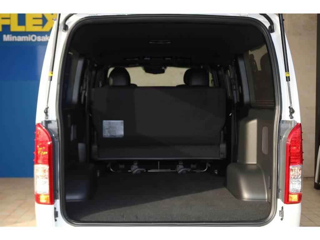 大容量のカーゴスペース♪ | トヨタ ハイエースバン 2.8 スーパーGL ダークプライムⅡ ロングボディ ディーゼルターボ