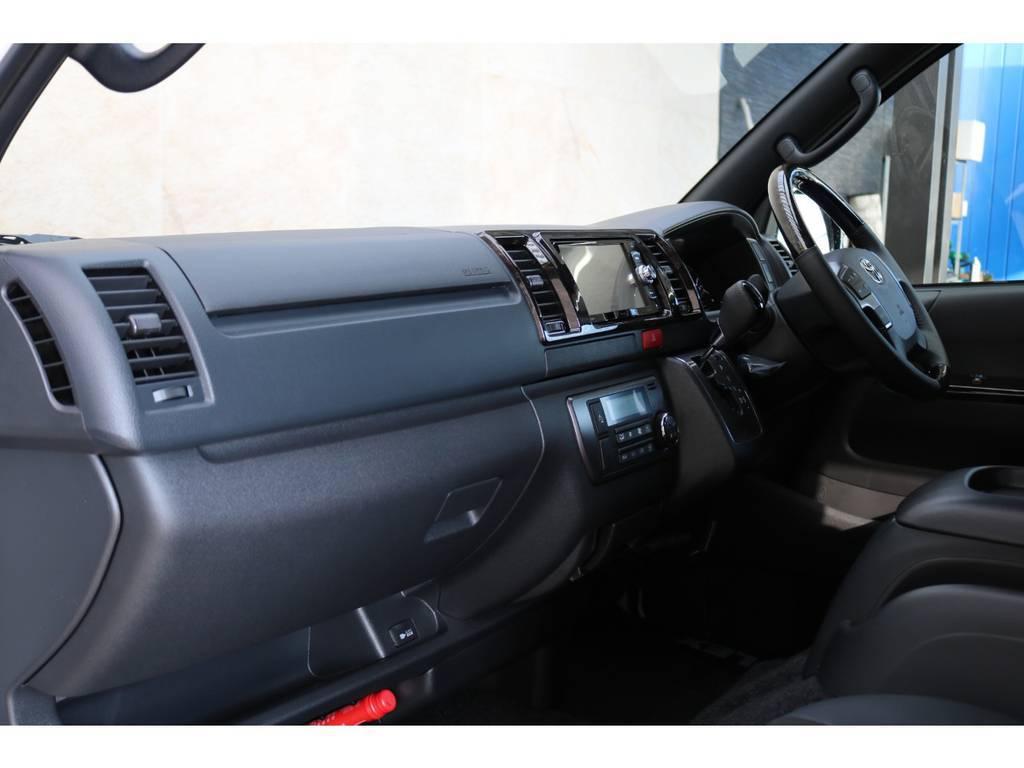 100Vコンセント・助手席エアバッグ装備♪ | トヨタ ハイエースバン 2.8 スーパーGL ダークプライムⅡ ロングボディ ディーゼルターボ