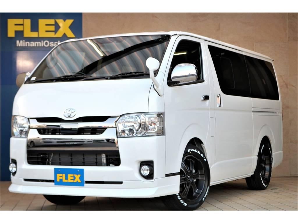 内外装FLEX CUSTOM♪全国販売&ご納車可能♪ | トヨタ ハイエースバン 2.8 スーパーGL ダークプライムⅡ ロングボディ ディーゼルターボ